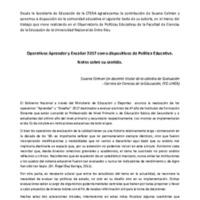 Operativos Aprender y Enseñar 2017 como dispositivos de política educativa. Susana Celman.pdf