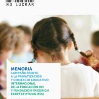 Memoria. Campaña frente a la privatización y comercio educativo.jpg