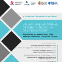 Viejas y nuevas formas de mercantilización de la educación. Seminario-internacional-clacso.pdf