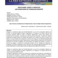 E1 - Naveiras, Peredo, Aimale, Macero, Muñoz - Disputando desde el sindicato las condiciones de trabajo docente.pdf