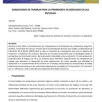 E9 - Canessa, Abal Medina, Ferro - Condiciones de trabajo para la promoción de derechos....pdf