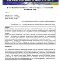 E3 - Ferrari - El derecho a la formación docente continúa en disputa. La experiencia del SUTEBA en el PNFP.pdf