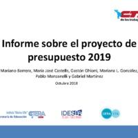 Proyecto presupuesto 2019 -CIFRA-CTABsAs-CTERA.pdf