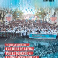 Canto Maestro Textos en contexto. La lucha de CTERA por el derecho a la educación pública.pdf