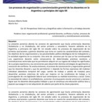 E10-Raide, Acri-Los procesos de organización y concienciación gremial de los docentes en la Argentina a principios del siglo XX.pdf