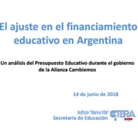 El ajuste en el financiamiento educativo en Argentina.pdf