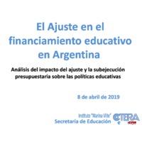 El desfinanciamiento educativo en el año  2018.pdf