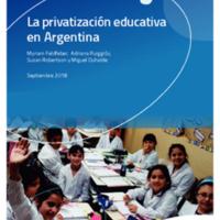 Privatización educativa en Argentina Elementos para el debate.pdf