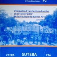 SUTEBA - DESIGUALDAD Y EXCLUSIÓN EDUCATIVA EN EL TERCER CICLO.pdf